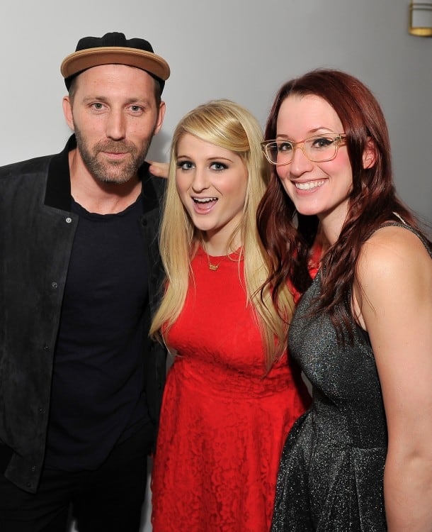 Backstage with MatKearney, Meghan Traino, Ingrid Michaelson