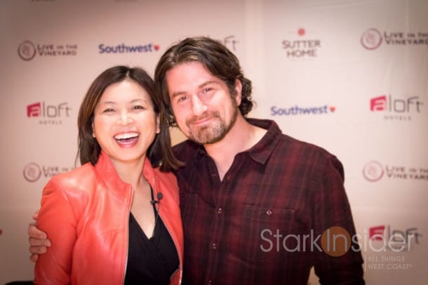 Matt Nathanson with Loni Stark of Stark Insider