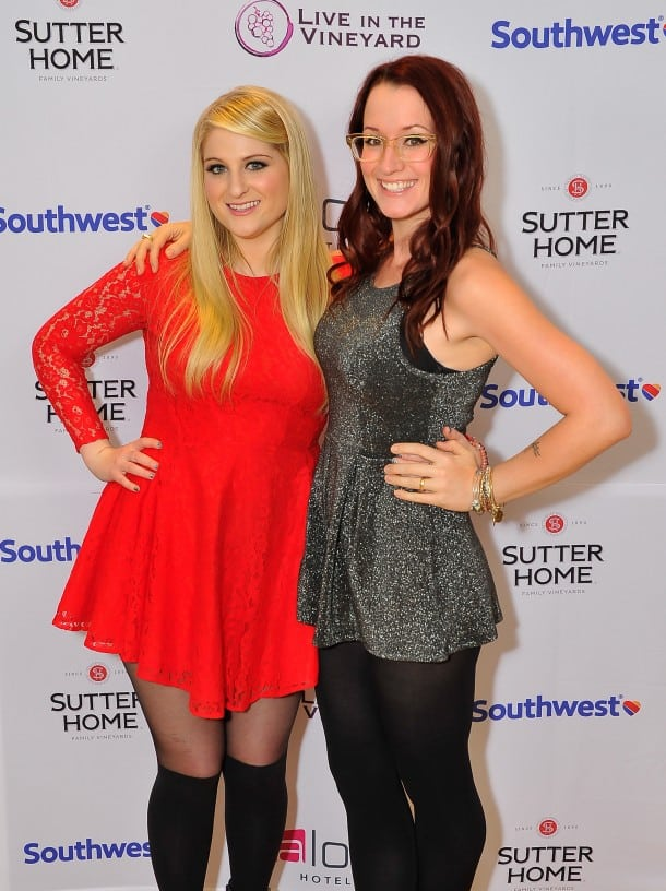 Meghan Trainor and Ingrid Michaelson