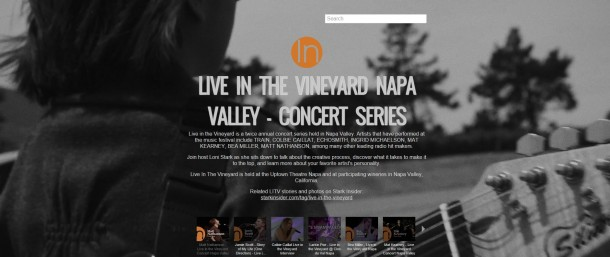 Live in the Vineyard Music Festival news, videos, photos and reviews