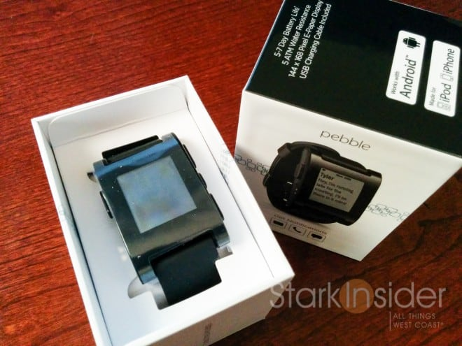 The first Pebble -- Pebble Classic -- shipped in 2013.