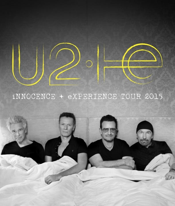 U2 Innocence and Experience World Tour - Perfomance Dates