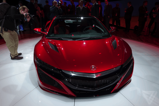 Acura-NSX-front-view