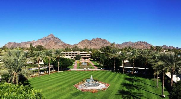 Arizona Biltmore - exterior aerial shot