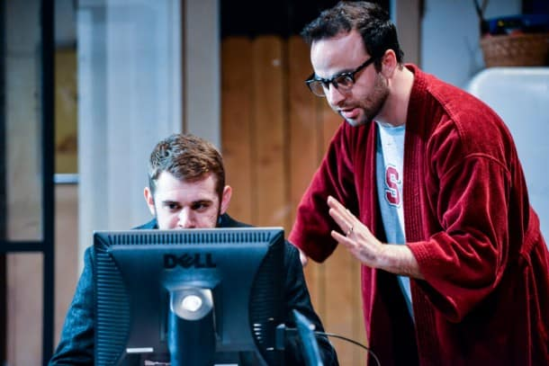 Build - George Psarras, Max Tachis at City Lights Theater Company