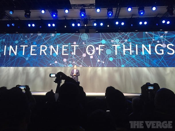 The Internet of Things. A big theme at CES 2015.