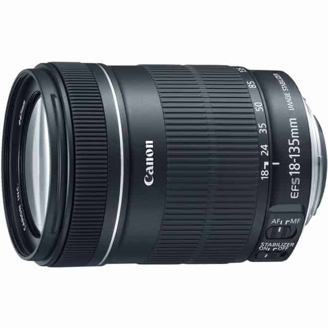Canon 18-135mm Zoom Lens