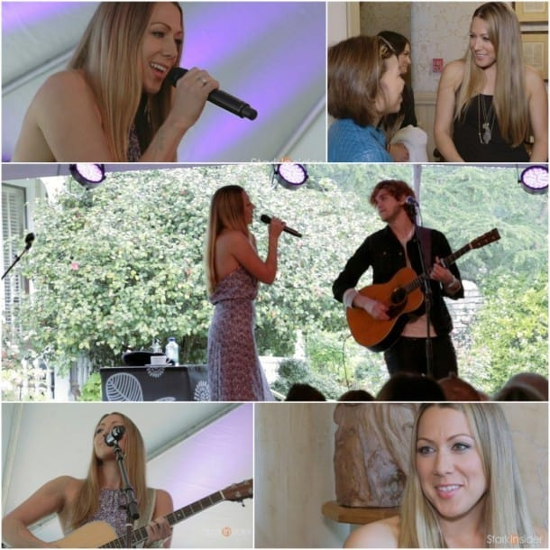 Colbie Caillat performs at Yountville Live