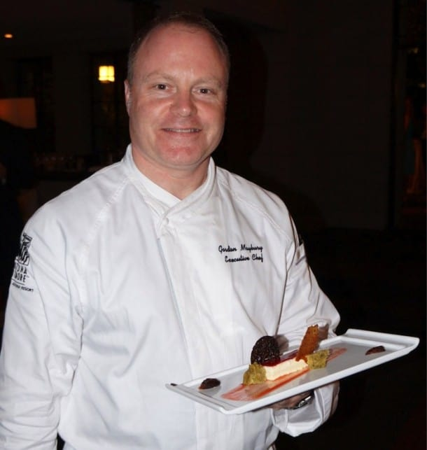 Arizona Biltomore - Executive Chef Gordon Maybury works his magic