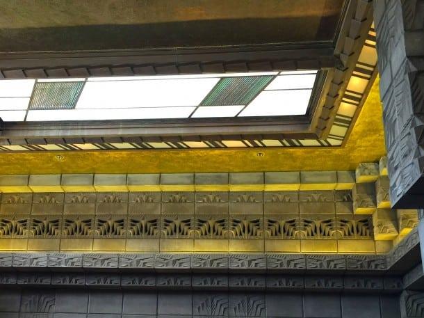 Incredible gold-leaf ceilings