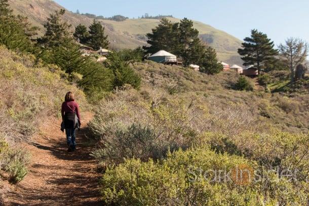 Hiking at Treebones