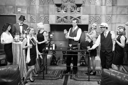 Party in the Biltmore Mystery Room