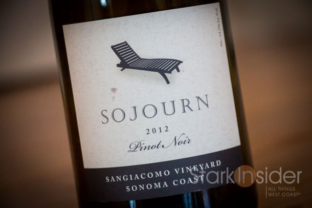 Sojourn 2012 Pinot Noir, Sonoma Coast - Wine of the Week