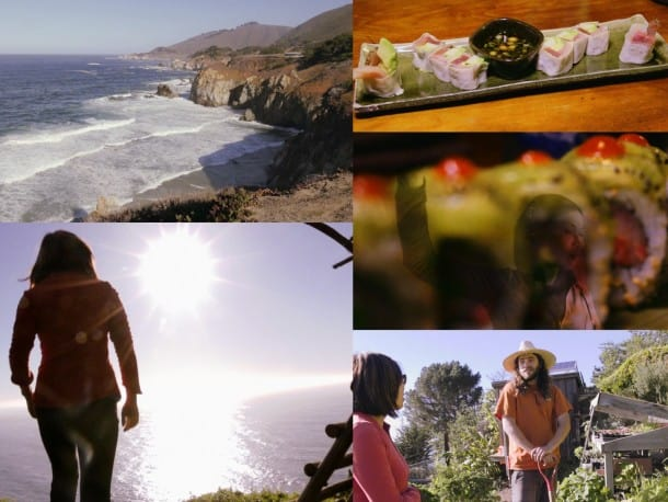 Treebones Video Tour with Loni Stark - Big Sur, California