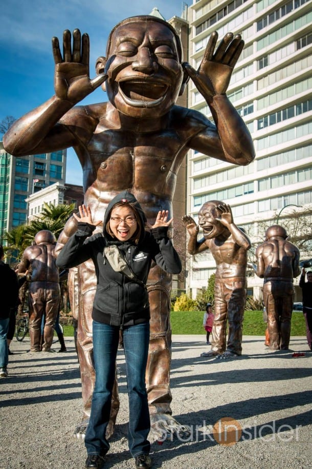 A-maze-ing Laughter Public Art Exhibit - Vancouver, Canada