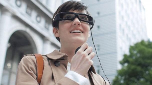 Google Glass Redux - Sony SmartEyeglass