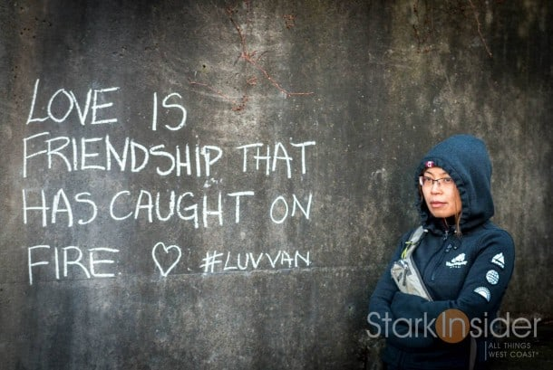 """Love is friendship that has caught on fire."" - LuvVan with Loni Stark"