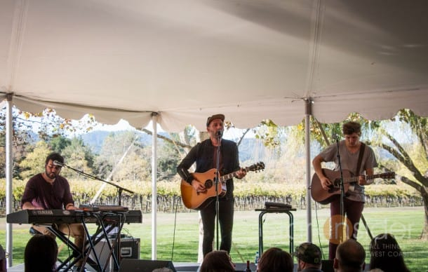 Mat Kearney performs live in Napa