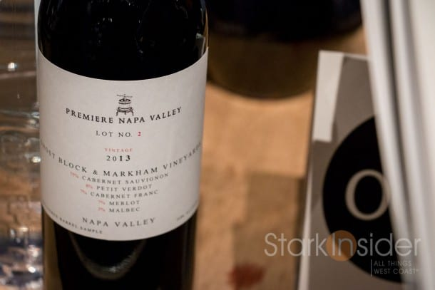 Ghost Block and Markham Vineyards '13 Red Wine