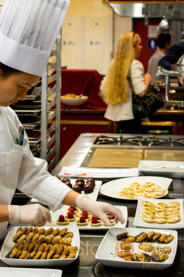 Desserts at Premiere Napa Valley - CIA
