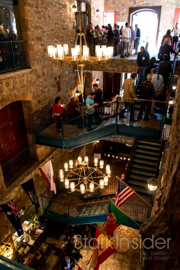 The main hall, Culinary Institute of America at Greystone.