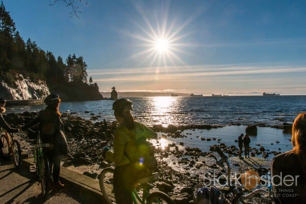Seawall, Stanley Park - Vancouver, Canada