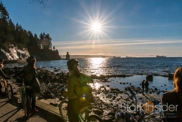 Seawall, Stanley Park - Vancouver, Canada