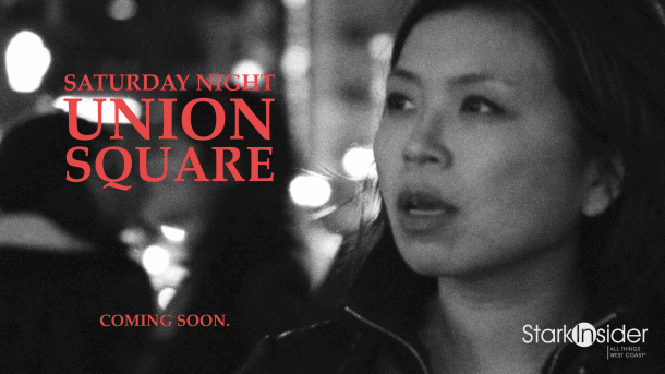 Night Walk Video - Union Square, San Francisco with Loni Stark