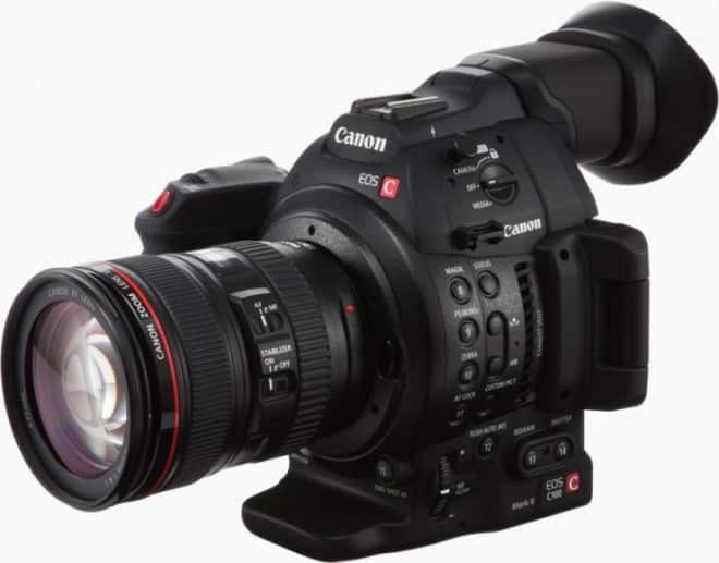 Canon C100 Mark II Super 35 Cinema Camera