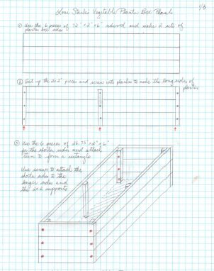 Loni Stark's Venturing into Vegetable Gardening Planter Box Plans