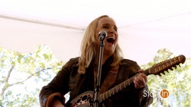 Melissa Etheridge live concert, interview