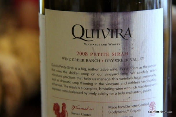 2008 Quivira Petite Sirah - Dry Creek Valley, California