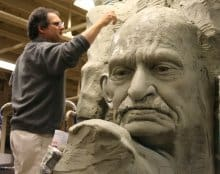 Sculptor Mario Chiodo: From Monsters to Monuments