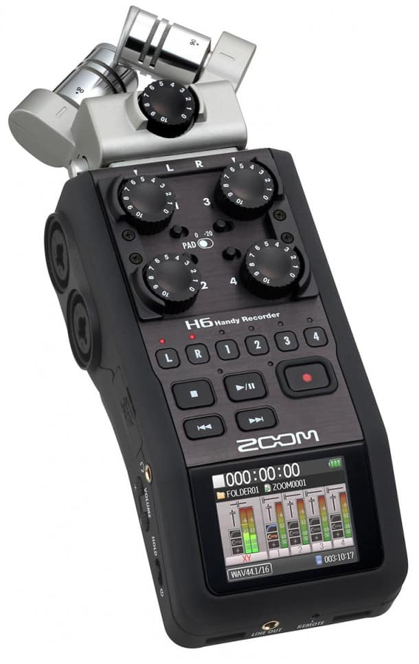 Zoom H6 Field Recorder