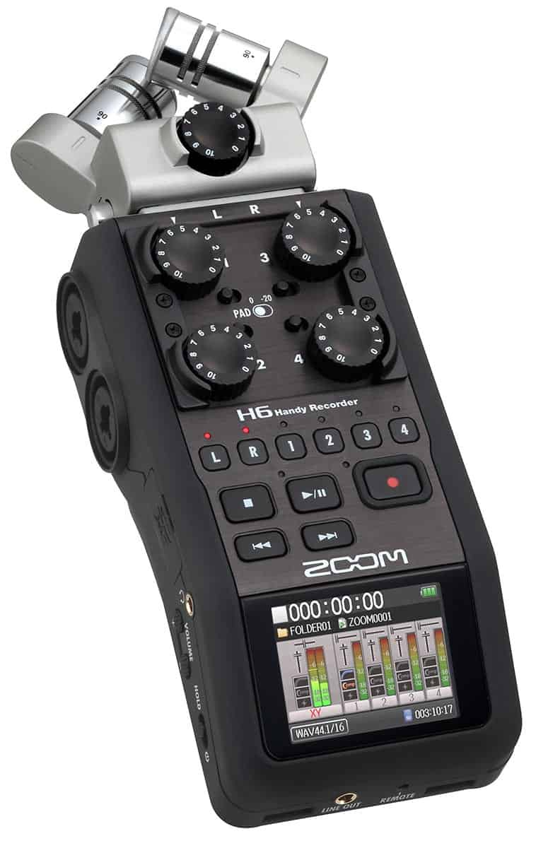 Dslr Tips  How To Use A Zoom H6 Field Recorder On Location