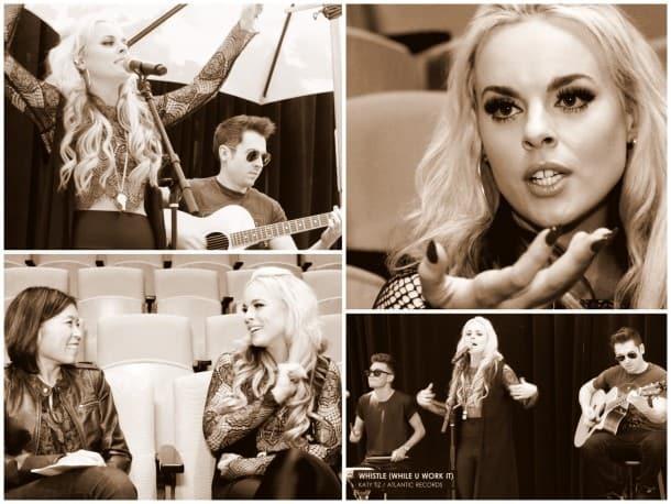Katy Tiz Interview - Live in the Vineyard with Loni Stark
