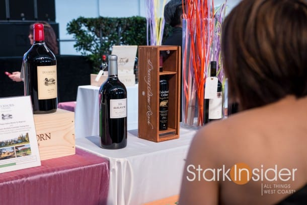 Duckhorn and Mt. Brave red wines at Star Chefs & Vintners Gala, San Francisco.