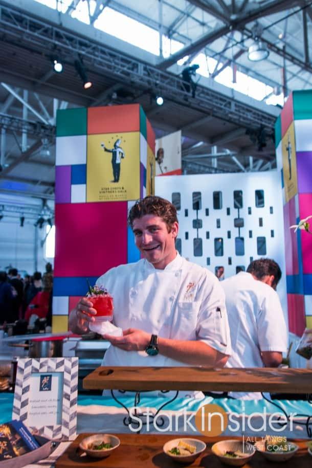 Cheers! Chef Benjamin Balesteri of Poggio.