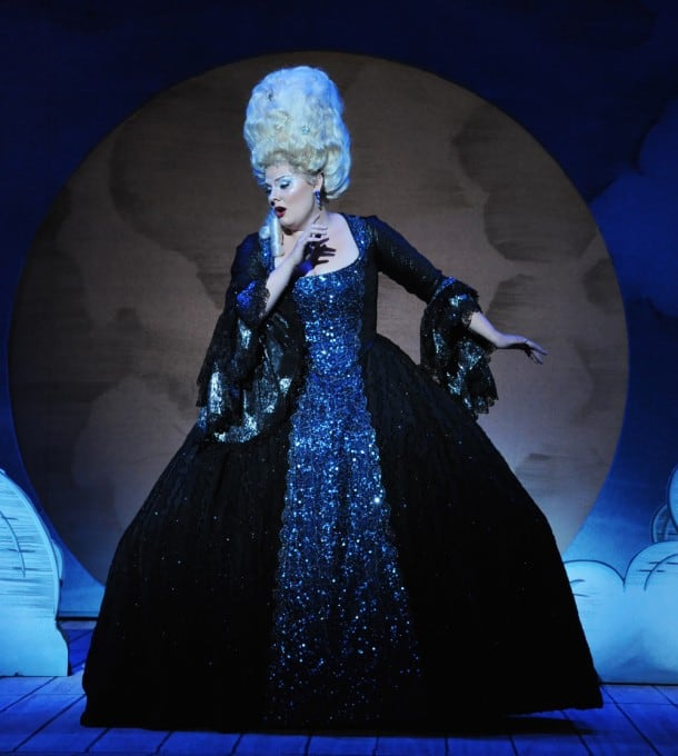 "Opera San José resident artist Isabella Ivy as ""The Queen of the Night"""