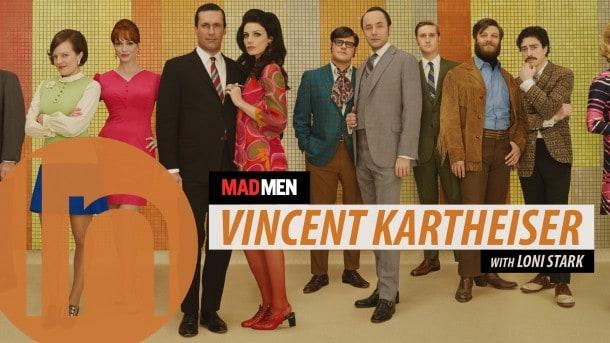 Mad Men Video - Vincent Kartheiser on Pete Campbell, acting, social media