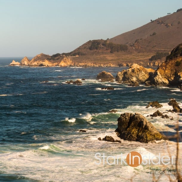 Pacific Ocean = View from Highway 1 California