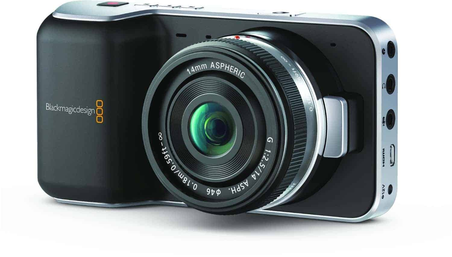 Black Magic Pocket Cinema Camera With Rokinon Pictures to Pin on ...