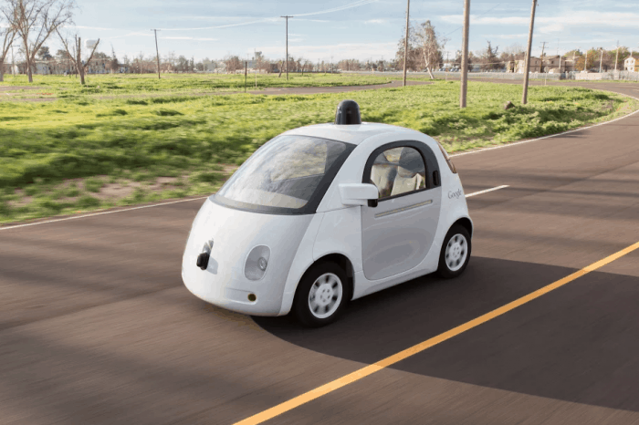 Google Self-Driving Car 2015 Prototype