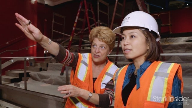 The Strand Theater - Hardhat tour with Carey Perloff