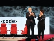 Walt Mossberg and Kara Swisher who founded tech blog Recode only 18 months earlier, have been acquired by Vox Media.