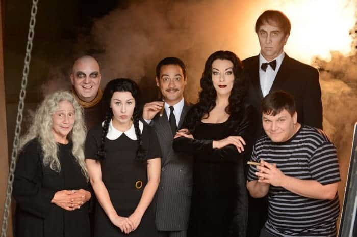 The Addams Family musical - cast