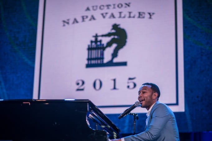 John Legend - Auction Napa Valley