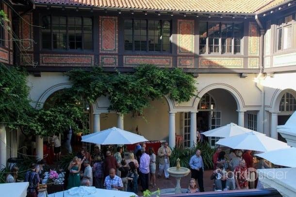 Montalvo Arts Center - Spanish Courtyard