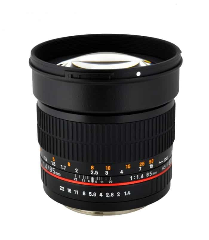 Rokinon 85mm cinema lens
