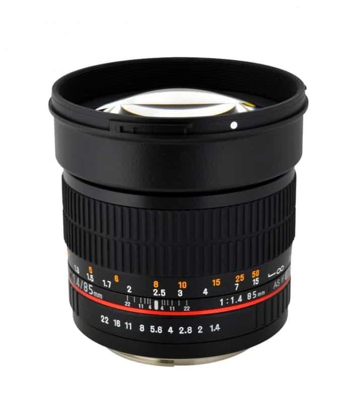 Rokinon 85mm cinema lens